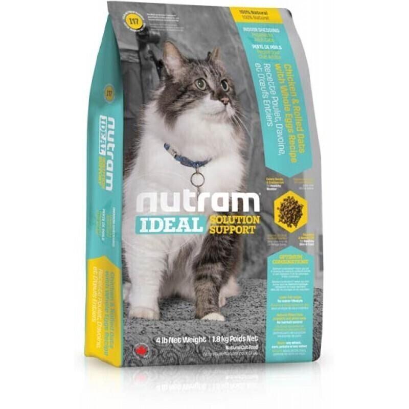 Nutram корм для взрослых кошек всех пород, живущих в помещении 400 гр