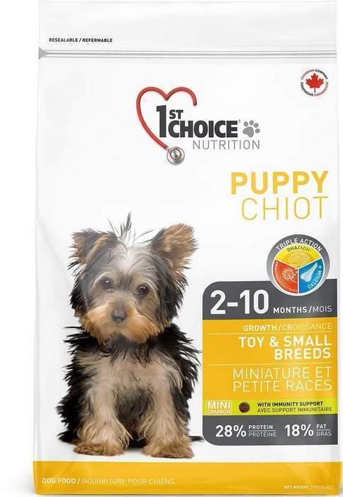 1st Choice корм для щенков малых и декоративных пород, курица и рис 1 кг