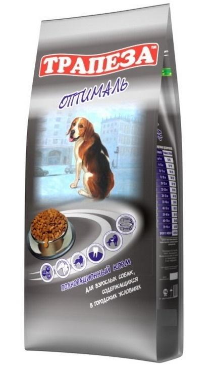 Трапеза корм для взрослых собак всех пород, контроль веса 2,5 кг
