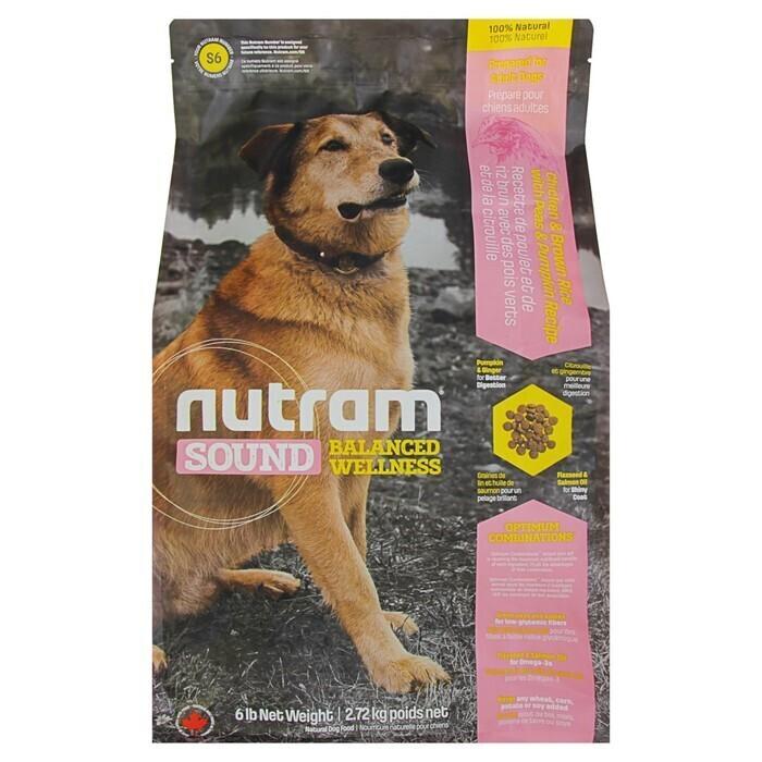 Nutram корм для взрослых собак всех пород 2 кг