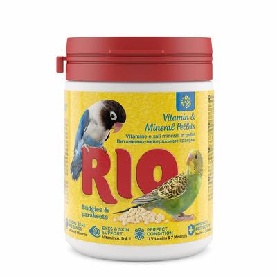 RIO витаминно-минеральная смесь дволнистых и средних попугаев 120 гр