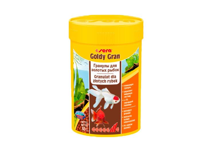 Sera корм для золотых рыбок, со спирулиной, гранулы 30 г