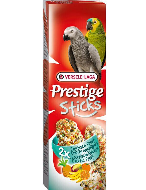 Versele-Laga Prestige палочки для крупных попугаев, с экзотическими фруктами 140 гр