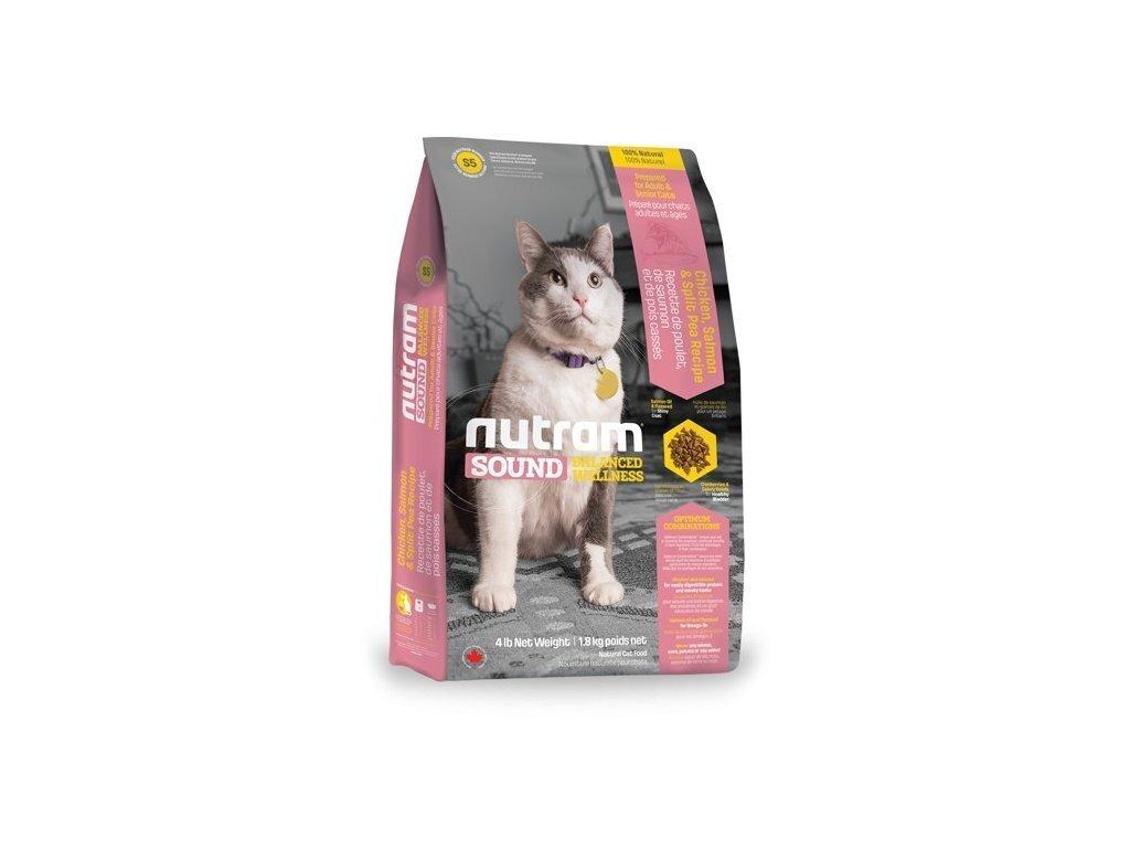 Корм Nutram CAT S5 Adult-Senior Cat Food 1,13кг для кошек взрослых или пожилых 18256