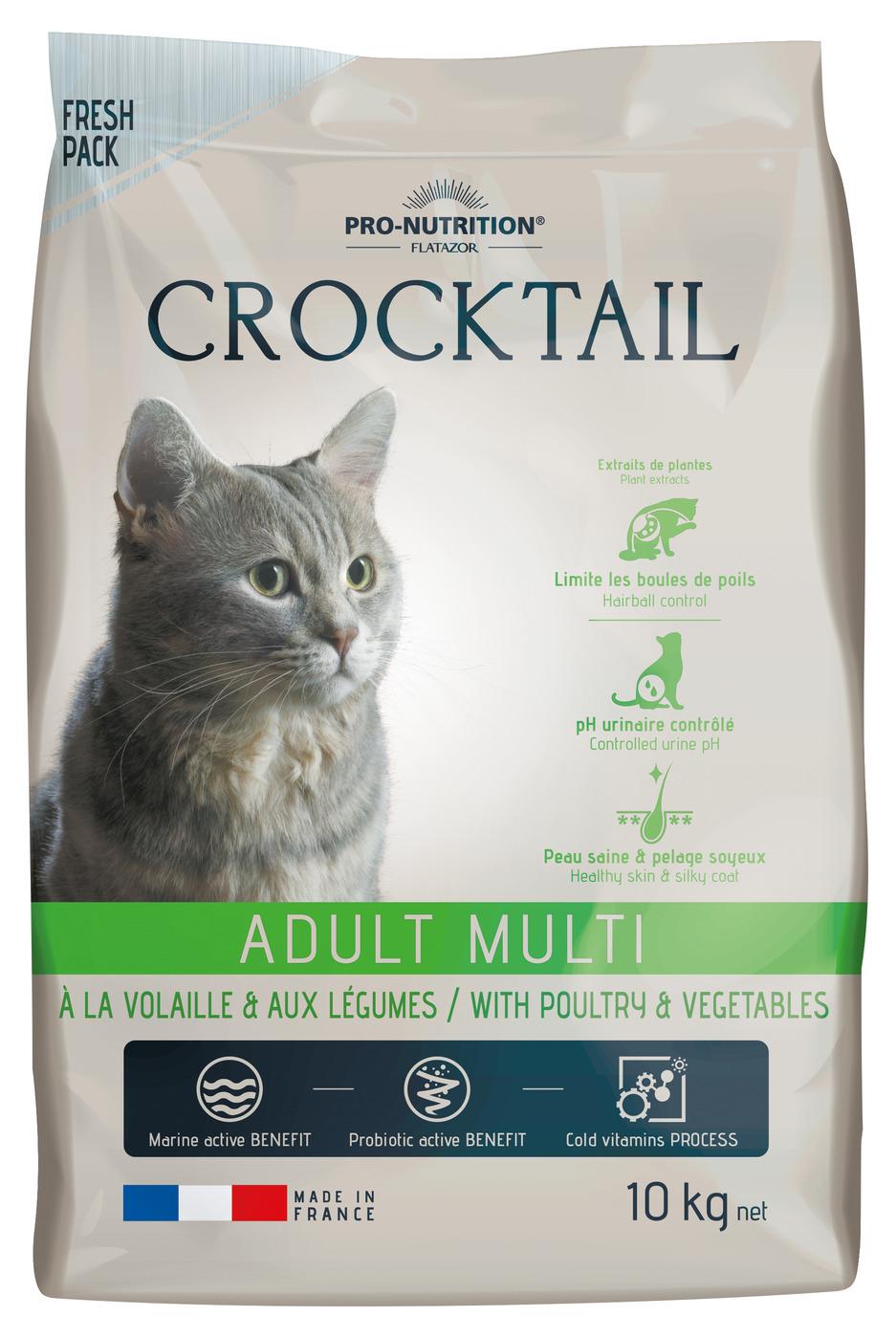 CROCKTAIL ADULT MULTI  (птица+овощи) 10кг х 1