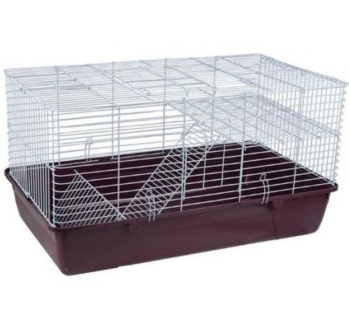 2111 SY K Клетка для кроликов 84,5х49х45см  (нан)