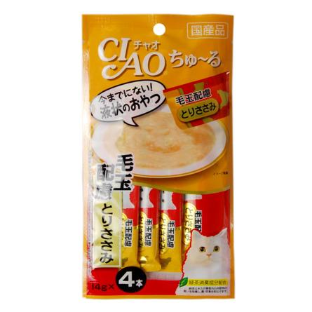 CIAO лакомство для кошек, восстановление организма, парная курица 56 гр