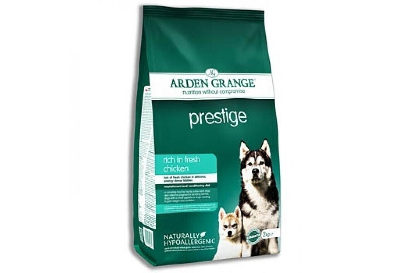 Arden Grange Prestige корм для взрослых собак всех пород, курица 2 кг