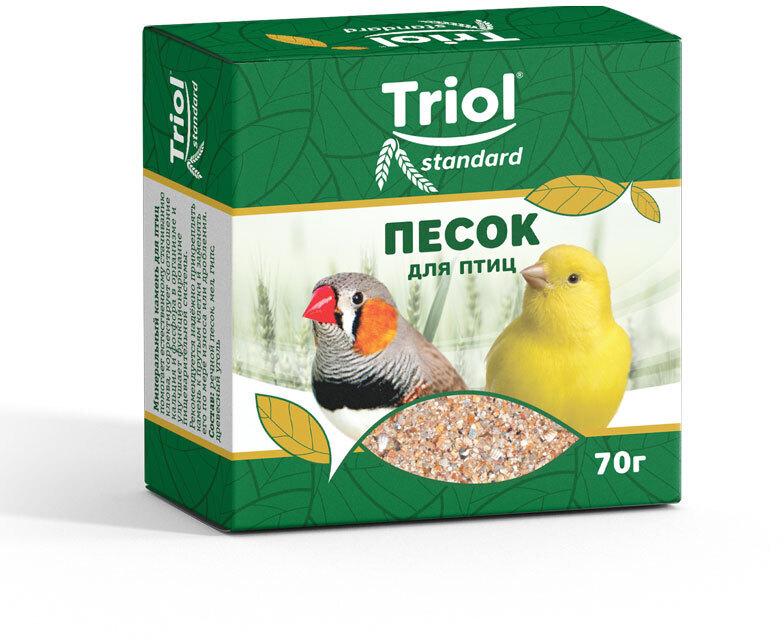Минеральная подкормка ПЕСОК для птиц Триол standart, 70г 100