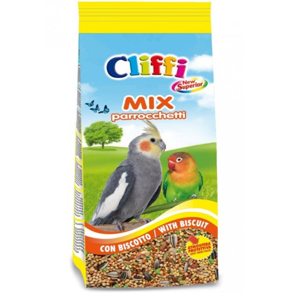 Cliffi (Италия) Смесь отборных семян для длиннохвостых попугаев с печеньем (Superior Mix Parakeets with biscuit) PCOA112, 1,000 кг, 51078