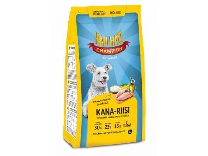 Hau-Hau Champion Chicken- Rice Adult dog 6кг корм для собак всех пород курица с рисом