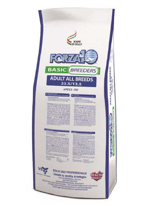 Forza 10 корм для взрослых собак всех пород, рыба 20 кг