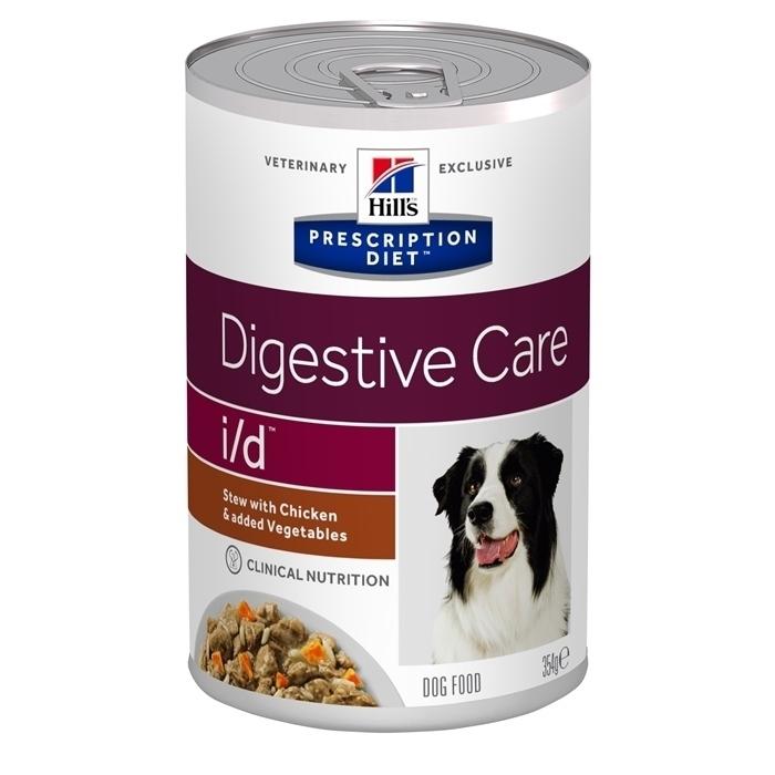 Hills i/d влажный корм для взрослых и пожилых собак всех пород, при заболеваниях ЖКТ, индейка 360 гр
