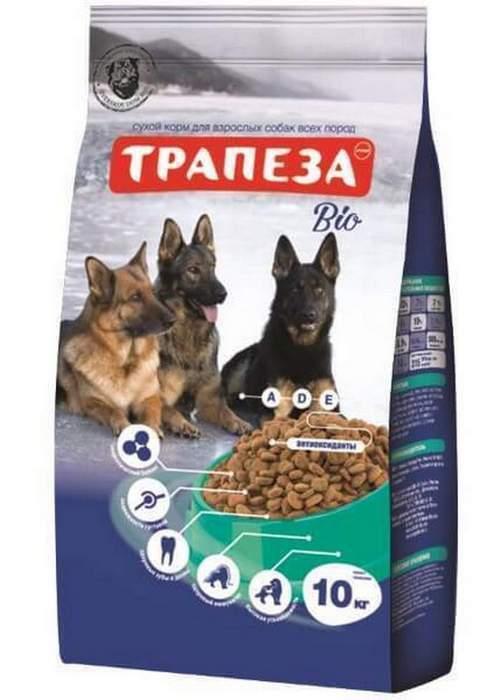 Трапеза сух длЯ собак Био 10 кг