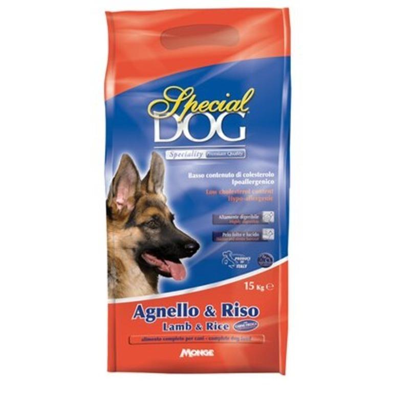 Special Dog корм для собак с особыми потребностями (с чувствительной кожей и пищеварением) ягненокрис 15 кг