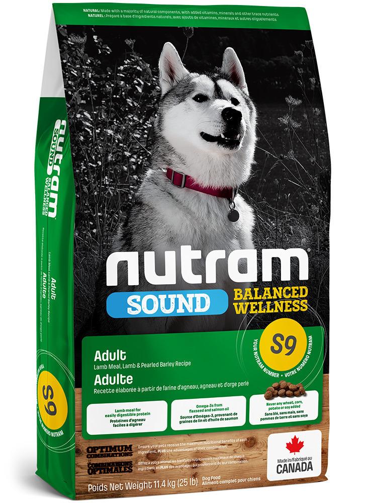 Nutram корм для взрослых собак всех пород, ягненок 11,4 кг