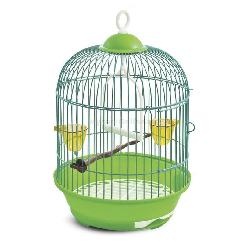 23A K Клетка для птиц d23, h37,5см (ан: А9011), 50691014