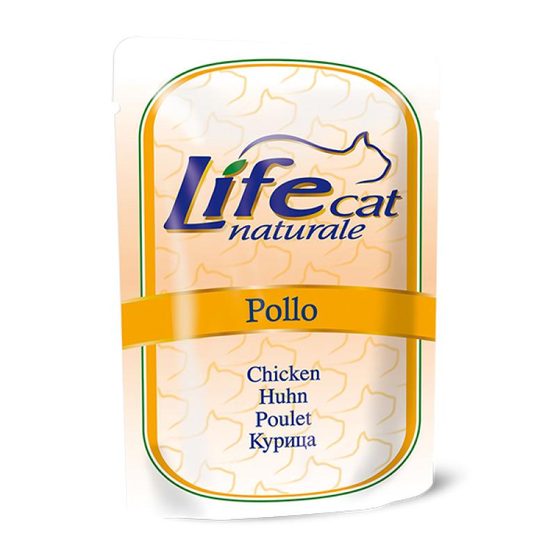 Lifecat Деликатес для кошек Курица в желе 70гр 130