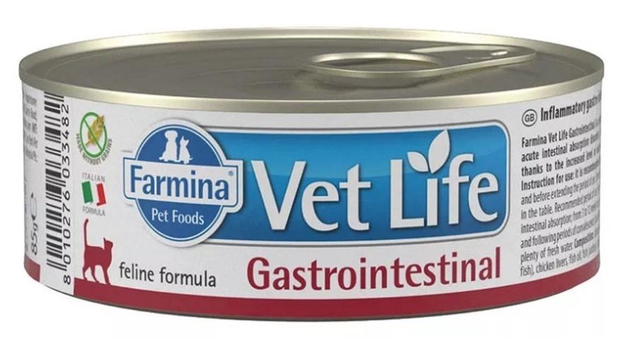 Farmina влажный корм для взрослых кошек, деликатное пищеварение, лечение ЖКТ 85 гр