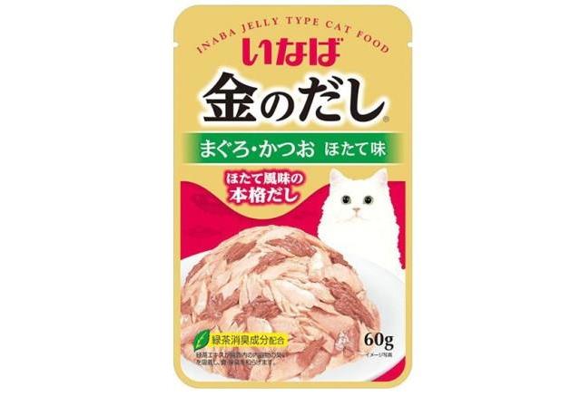 CIAO влажный корм для кошек, японский тунец бонито с гребешком 60 гр