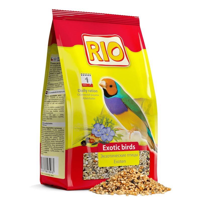 RIO корм дэкзотических птиц ( амадины и т.п.) 500 гр