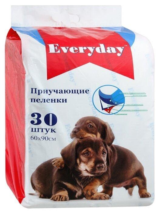EVERYDAY Впитывающие пеленки для животных  (гелевые) 30шт 60х90см 56496, 0,500 кг, 34101