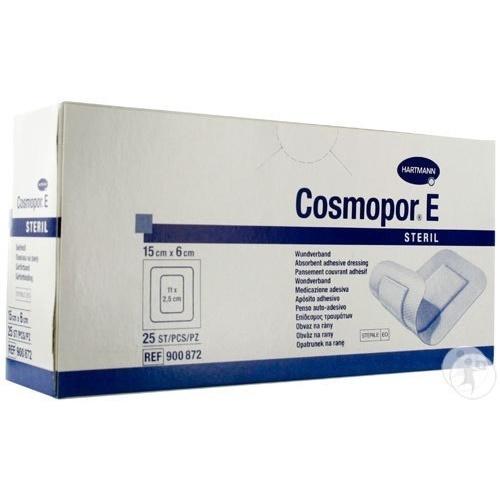 Hartmann COSMOPOR E самоклеящаяся послеоперационная повязка 15х6 см 25 шт.