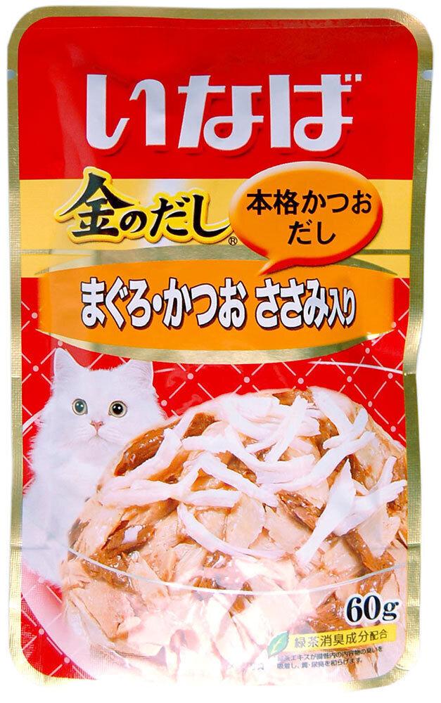 CIAO влажный корм для кошек, японский тунец бонито и филе курицы 60 гр
