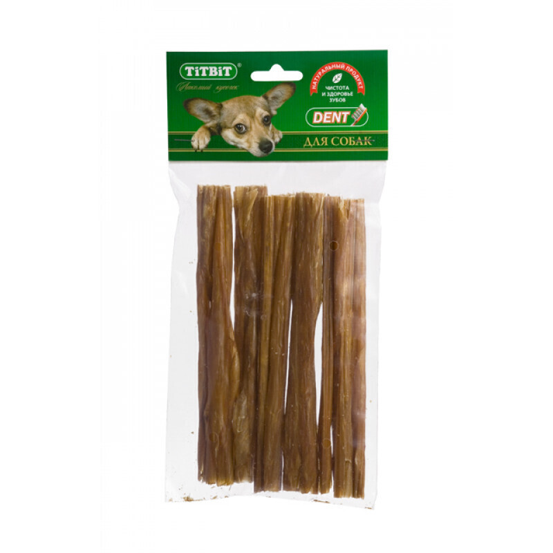 TITBIT кишки говяжьи XXL, мягкая упаковка 3987