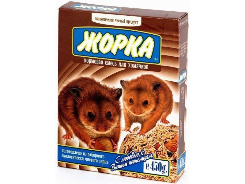 Жорка Для хомяков (коробка), 0,450 кг, 32071, 3800100479