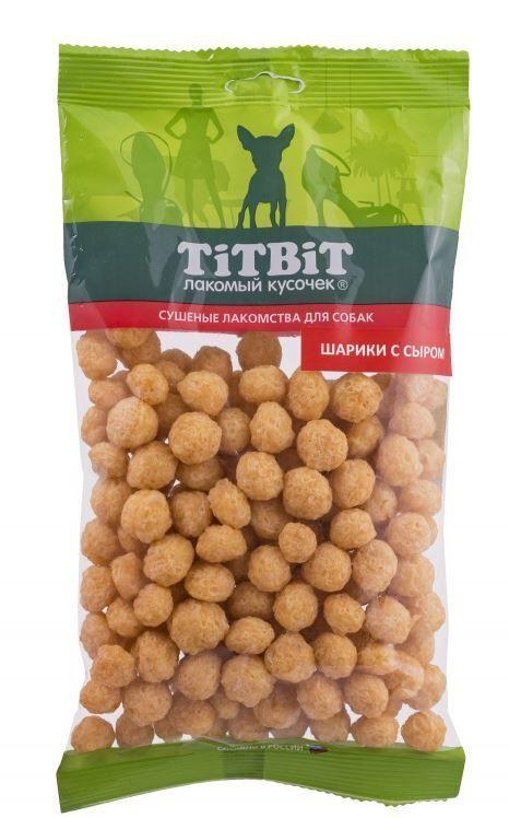 TITBIT золотая коллекция Шарики с сыром для собак 95 гр 018835