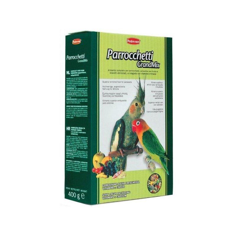 Padovan Parrocchetti основной корм для средних попугаев 400 гр