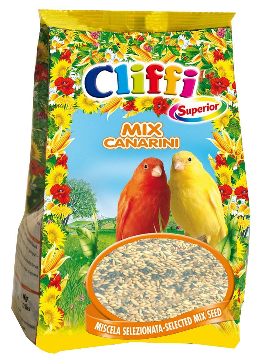 Cliffi (Италия) ВИА Смесь отборных семян для канареек (Superior Mix Canaries) PCOA102, 1,000 кг, 40335