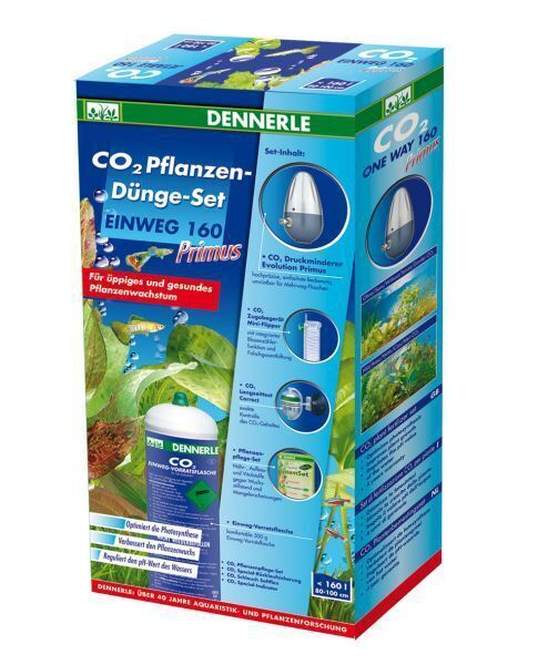 Dennerle CO2 Set 160 Primus Special Edition - Сист. подачи CO2 в акв. с мног. балл.