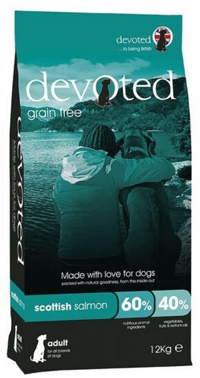 Devoted 40037 корм беззерновой для собак с шотландским Лососем 12кг