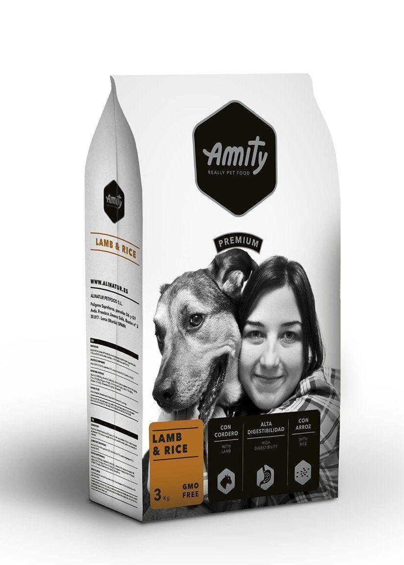 Amity Premium lamb&rice корм для собак Ягненок 3кг