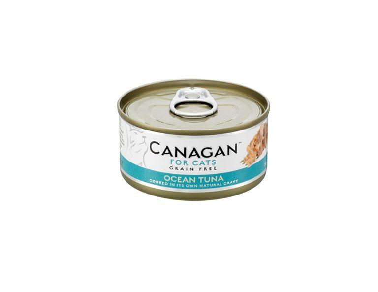 Canagan влажный корм для взрослых кошек всех пород, беззерновой, тунец 75 гр