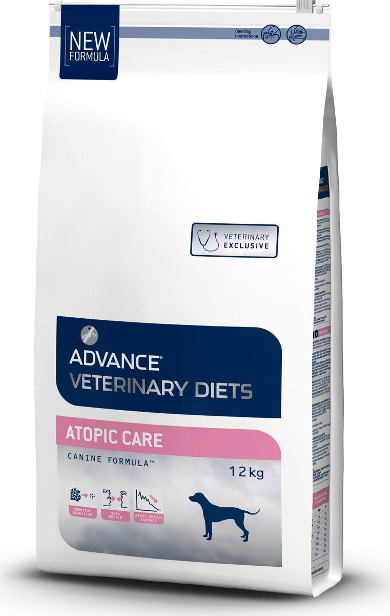 Advance корм для взрослых собак всех пород при дерматозах и аллергии, форель и картофель 12 кг