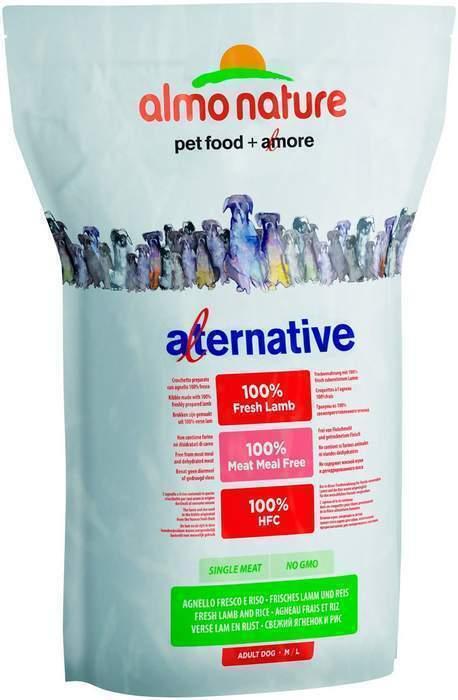 Almo Nature Alternative ВИА Корм со свежим ягненком и рисом (50 % мяса) для собак средних и крупных пород (Alternative Fresh Lamb e Rice  M-L) 7981 .., 9,500 кг, 10766