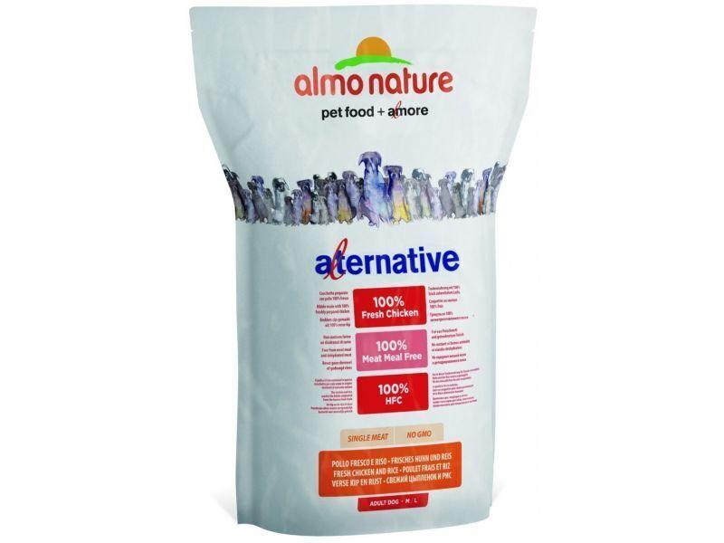 Almo Nature Alternative ВИА Корм со свежим цыпленком и рисом (75 % мяса) для собак средних и крупных пород (Alternative 170  Chicken and Rice M-L) 982 .., 9,500 кг, 10756