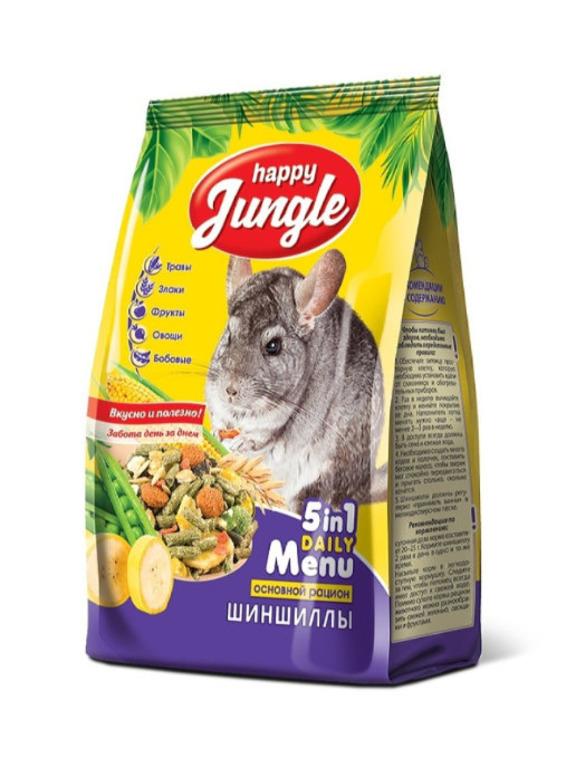 Happy Jungle корм для шиншилл 900 гр