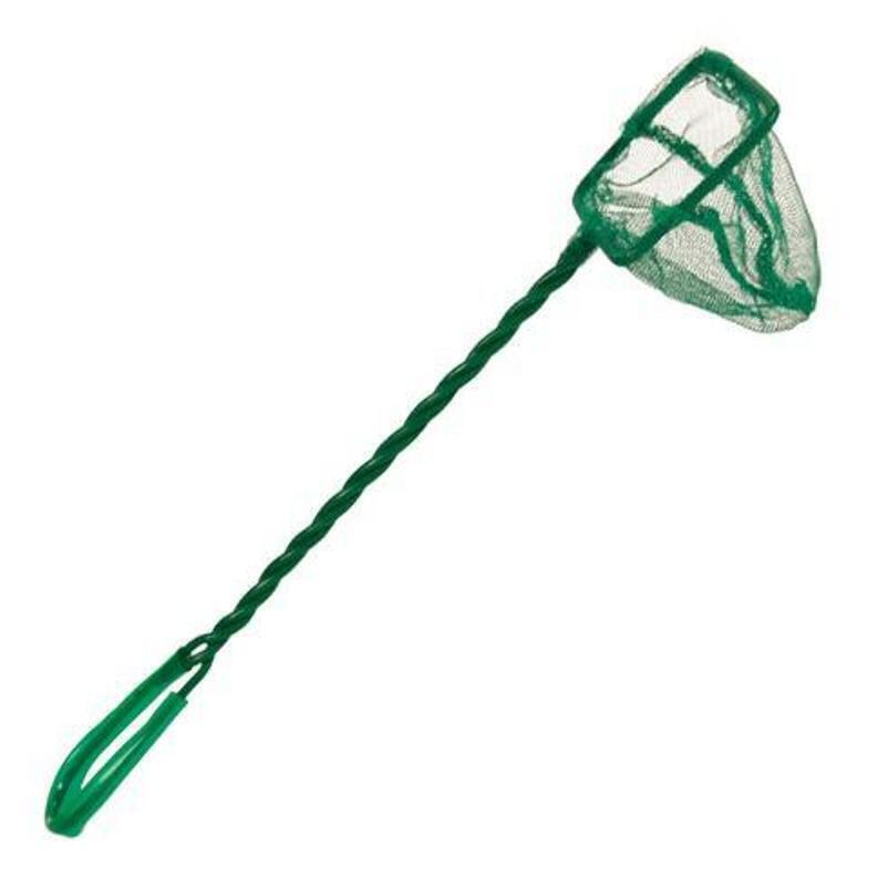 0504CW Сачок квадратный зеленый 7 длина 45см (18х15см)
