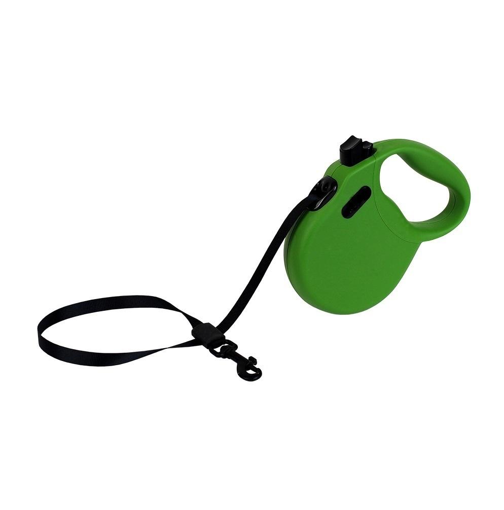ALCOTT ADVENTURE рулетка антискользящая ручка (лента) XS/3м/11кг зеленый