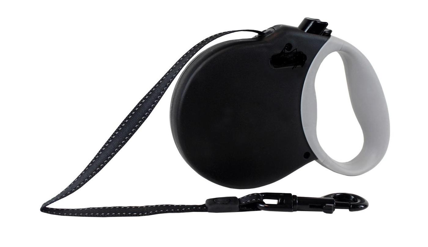 ALCOTT ADVENTURE рулетка антискользящая ручка (лента) XS/3м/11кг черный
