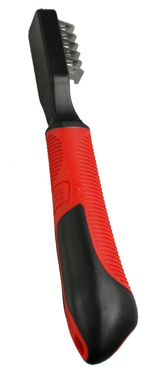[285.4.1030201]  Flamingo Колтунорез для собак прорезиненная ручка