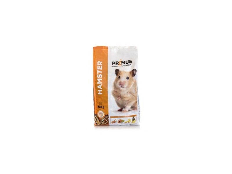 Benelux корма Корм для хомяков Премиум (Primus hamster Premium) 32502 (PRIMUS HAMSTER 2500G) 32502, 2,500 кг, 30005, 4900100479