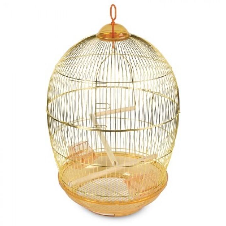 480 G Клетка для птиц d48, h76,5см (нан)