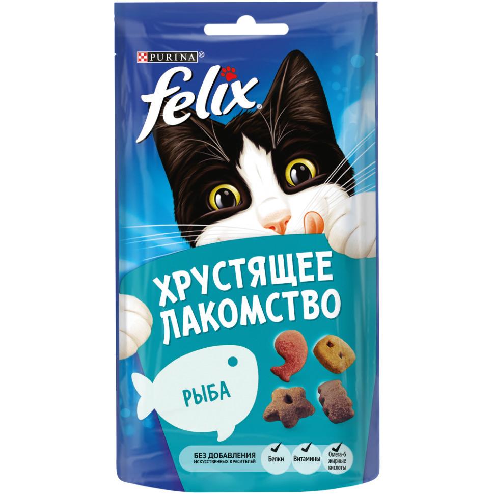 Felix ВИА Хрустящее лакомство Рыба (12393613), 0,020 кг, 36148