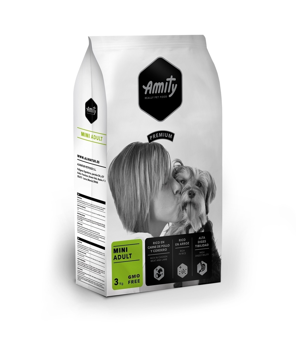 Amity Premium adult mini для собак Мелких пород 3кг