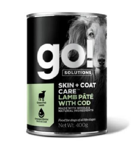 GO! влажный корм для собак с ягненком 400 гр